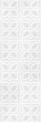 Керамическая плитка для стен Meissen Lissabon 25x75 белый (LBU053D)