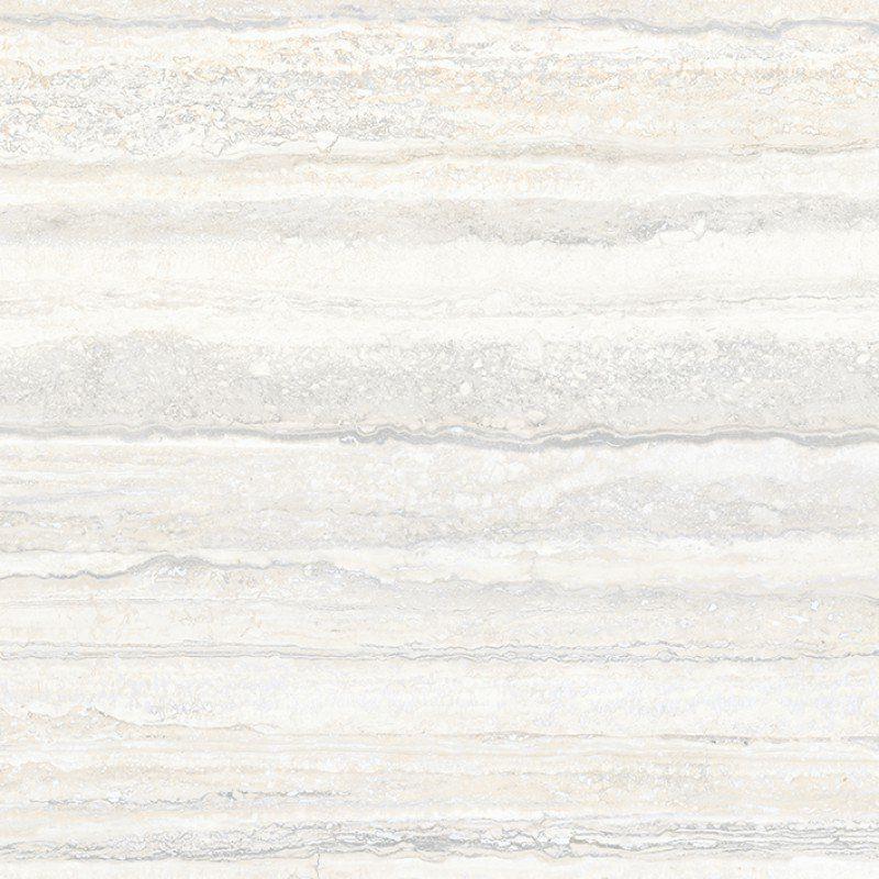 Плитка из керамогранита матовая Vitra Travertini 60X60 белый (K945351HR001VTE0)