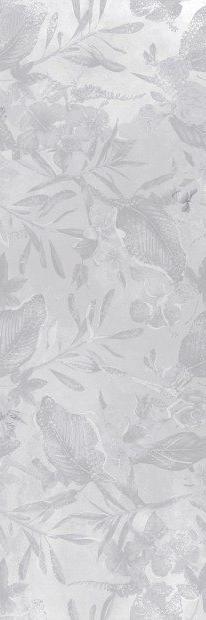 Керамическая плитка для гостиной Meissen Bosco Verticale 25х75 серый (BVU093)