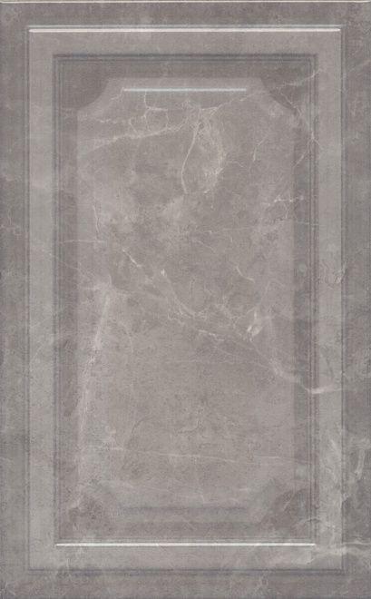 Керамическая плитка для стен Kerama Marazzi Гран Пале 25x40 серый (6354) керамический бордюр kerama marazzi гран пале багет беж ble007 5 5х25 см