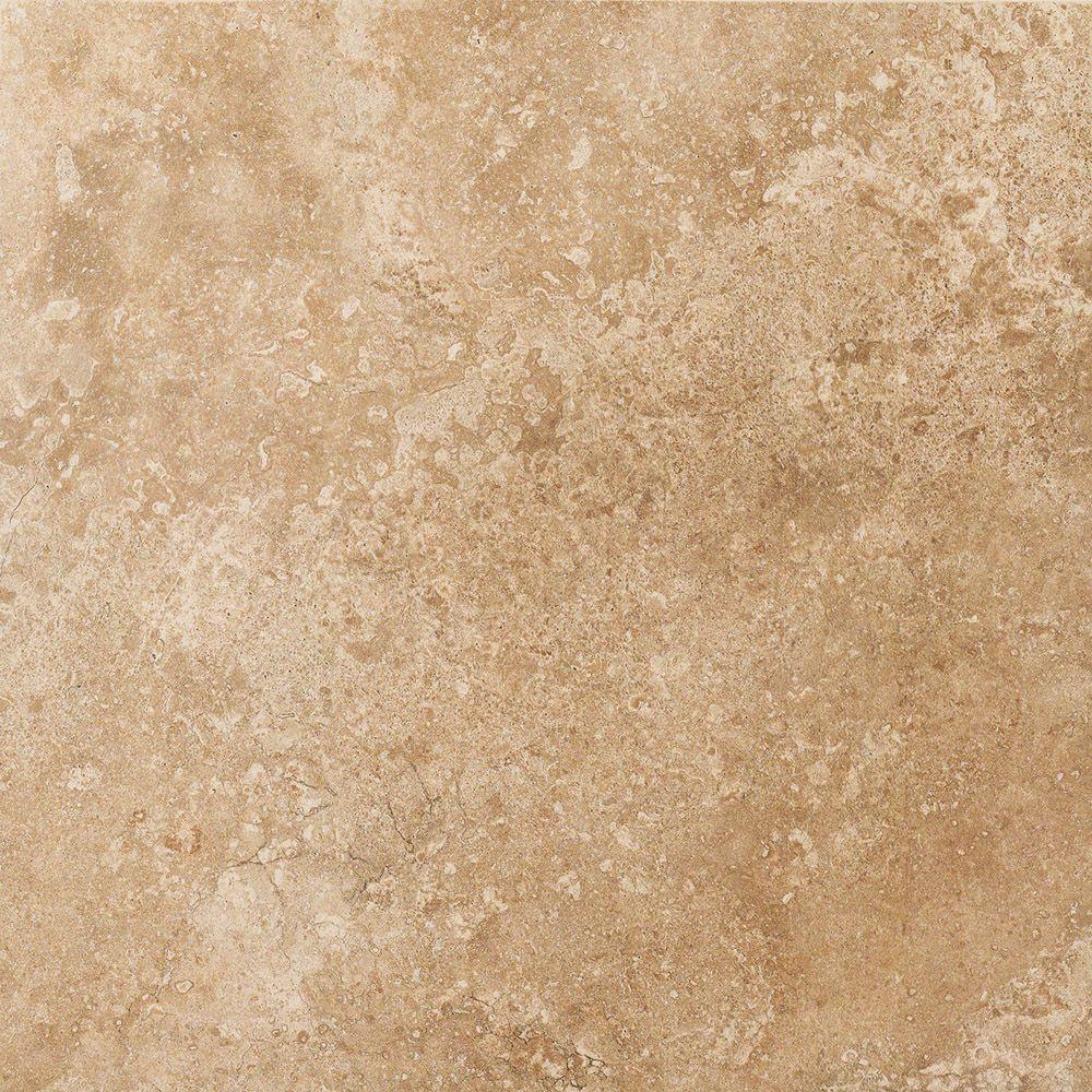 Плитка из керамогранита патинированная Italon НЛ-Стоун 60x60 коричневый (610015000161)
