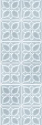 Керамическая плитка для стен Meissen Lissabon 25x75 синий (LBU333D)