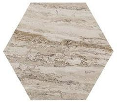 Керамогранит Allmarble Travertino 21х18,2