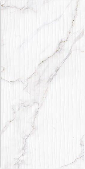 Керамическая плитка для стен Meissen Lara 29.7х60 белый (C-LRL052D)