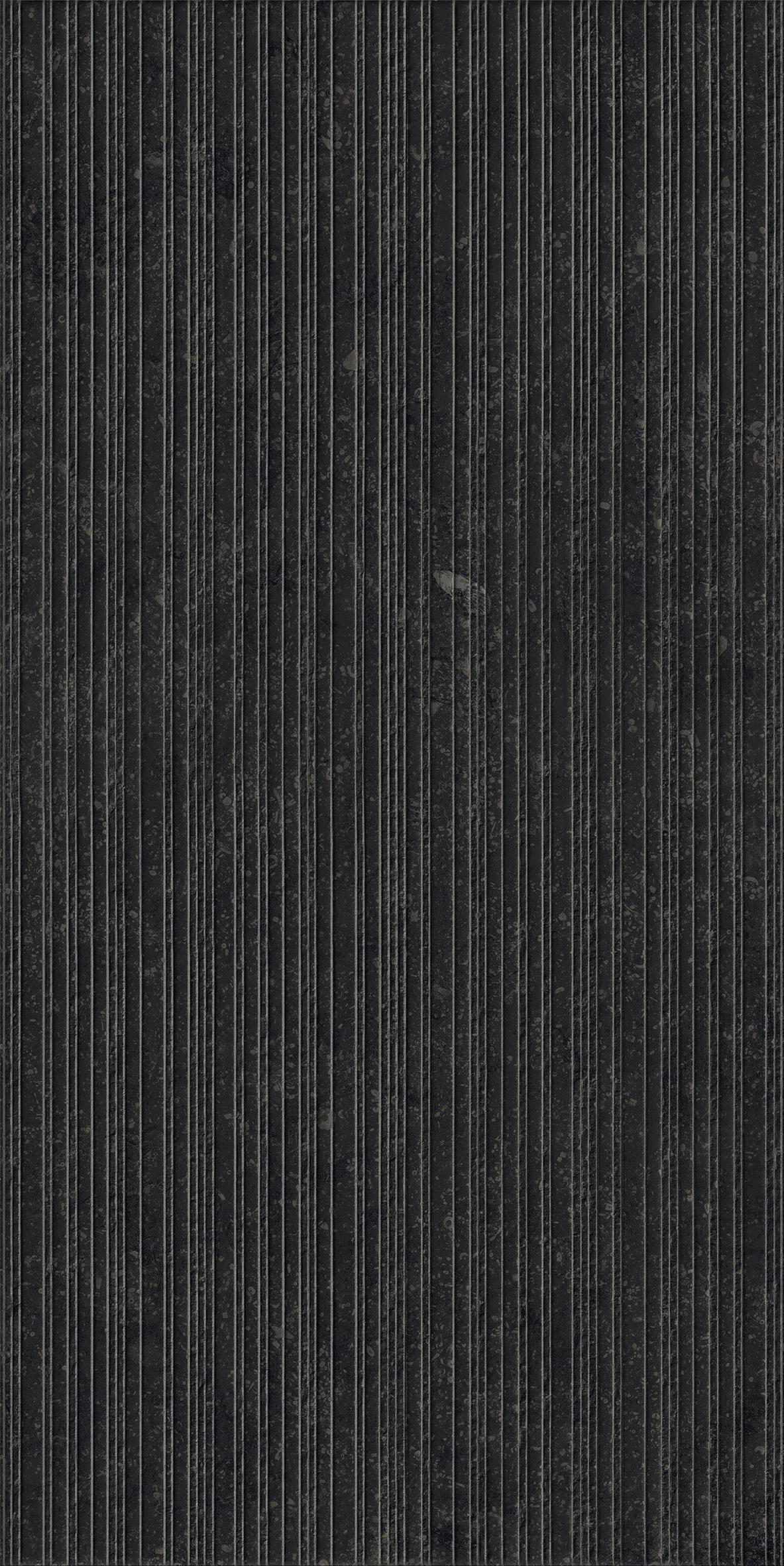 Плитка из керамогранита структурированная Italon Рум 30x60 черный (610010001467)