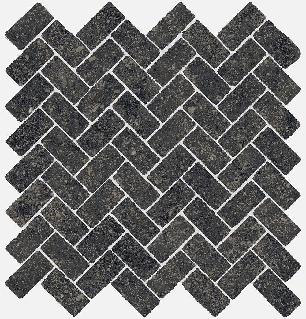 Мозаика под камень Italon Рум 29.7x31.5 черный (620110000099)
