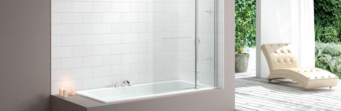 Установка стеклянной шторки на ванну фото 2