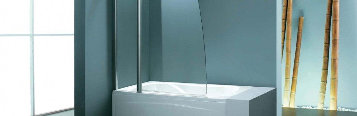 Установка стеклянной шторки на ванну фото 3