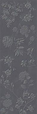 Декор Jardin Grey Flower Matt. Rec. 40x120