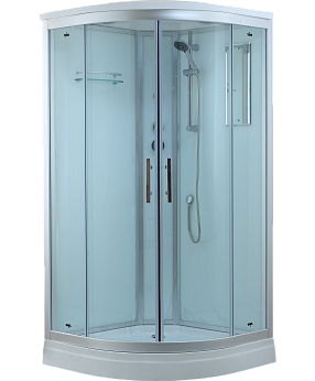 Душевая кабина Timo Standart T-6609 Silver 90x90x220