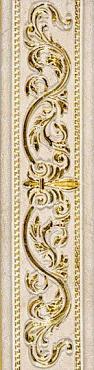 Бордюр Listello Lexus Gold Beige 13х50