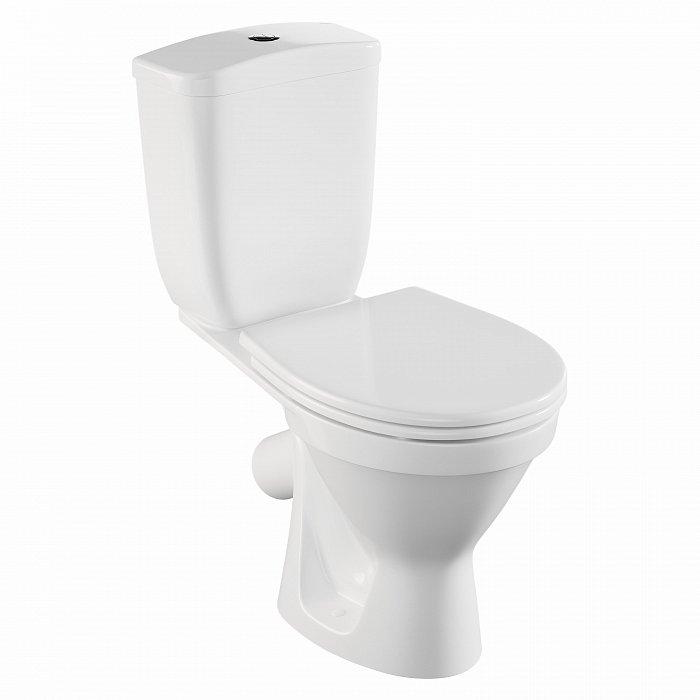 Купить унитаз-компакт norm blanc 9837b099-7202 напольный с сиденьем микролифт 9837B099-7202 в интернет-магазине Мосплитка