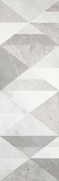 Декор Evolutionmarble Riv Decoro Tangram White Rhi 32,5х97,7